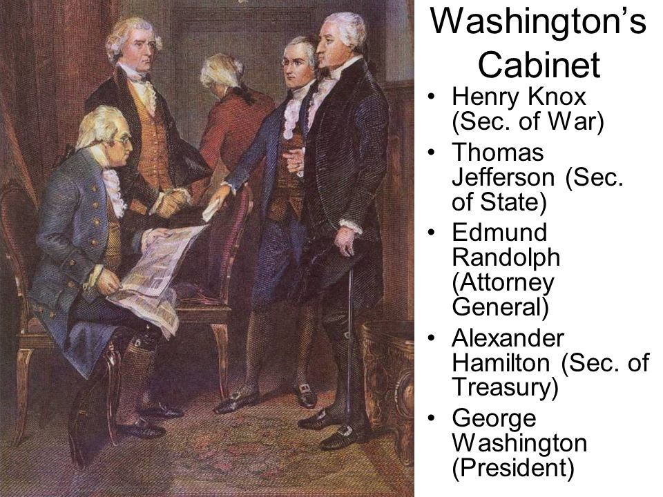 High Quality George Washington Cabinet Of Advisors Digitalstudiosweb Com