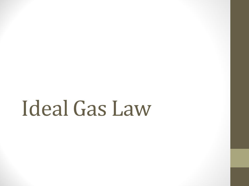 Avogadros Law  ppt download