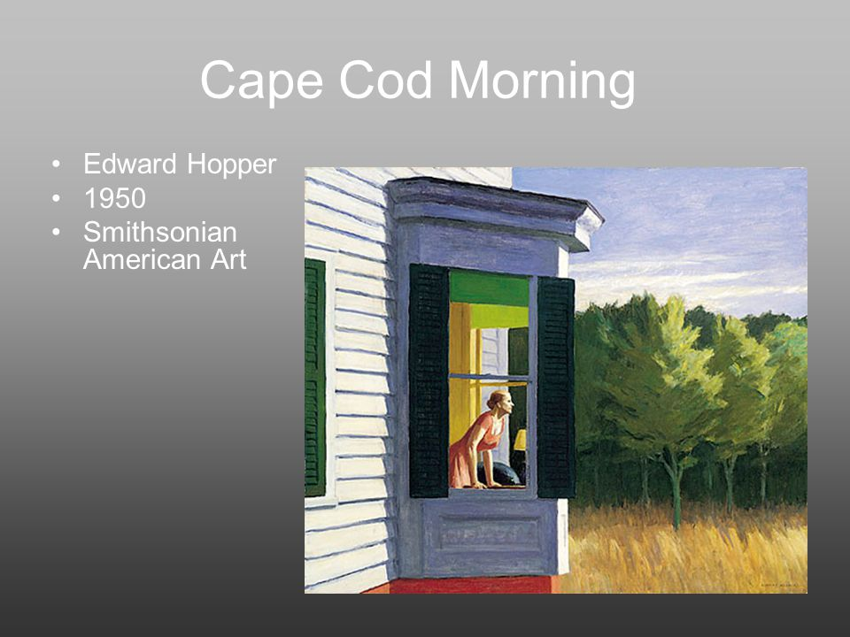Sunday Morning Edward Hopper S
