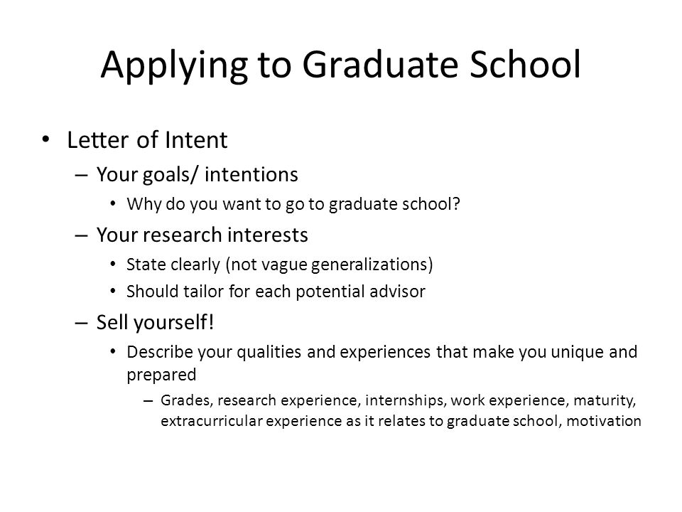 How To Go To Graduate School Ppt Video Online Download