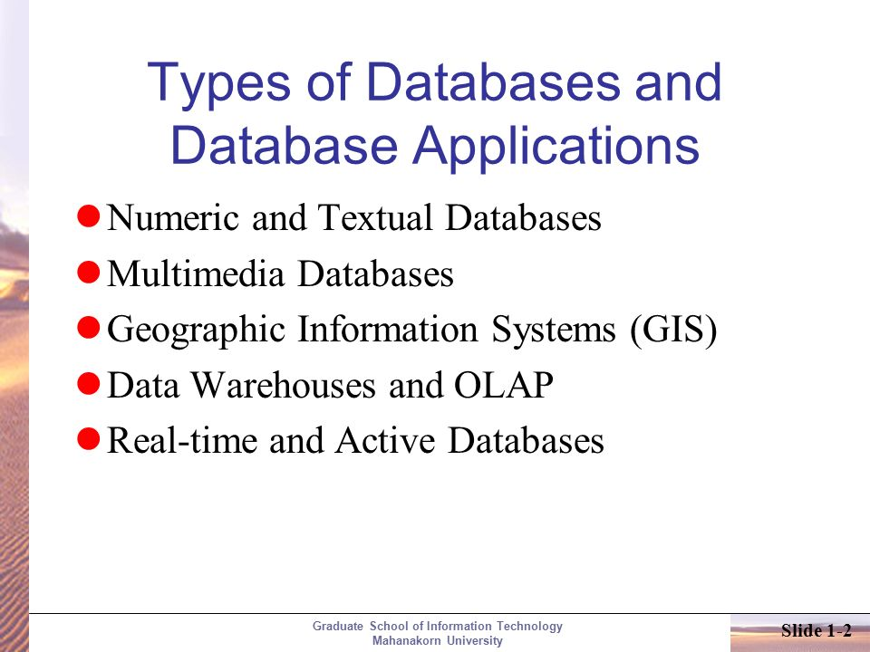 Databases and Database Users  ppt video online download