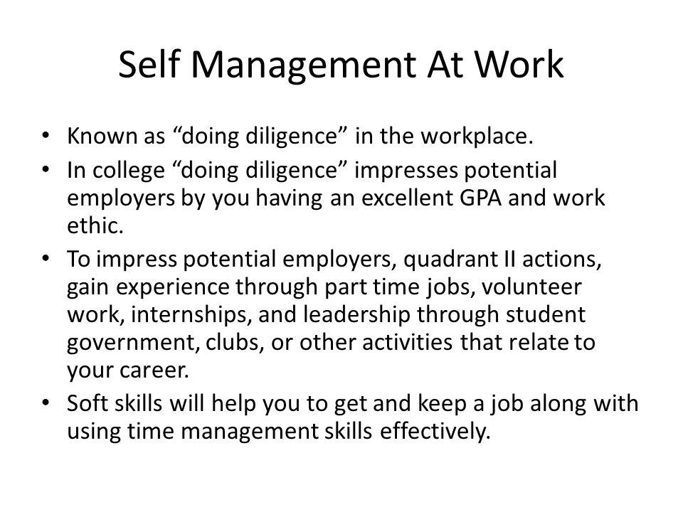 Mastering Self Management Ppt Video Online Download