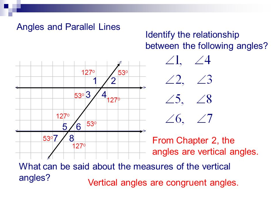 Angles And Parallel Lines Ppt Download
