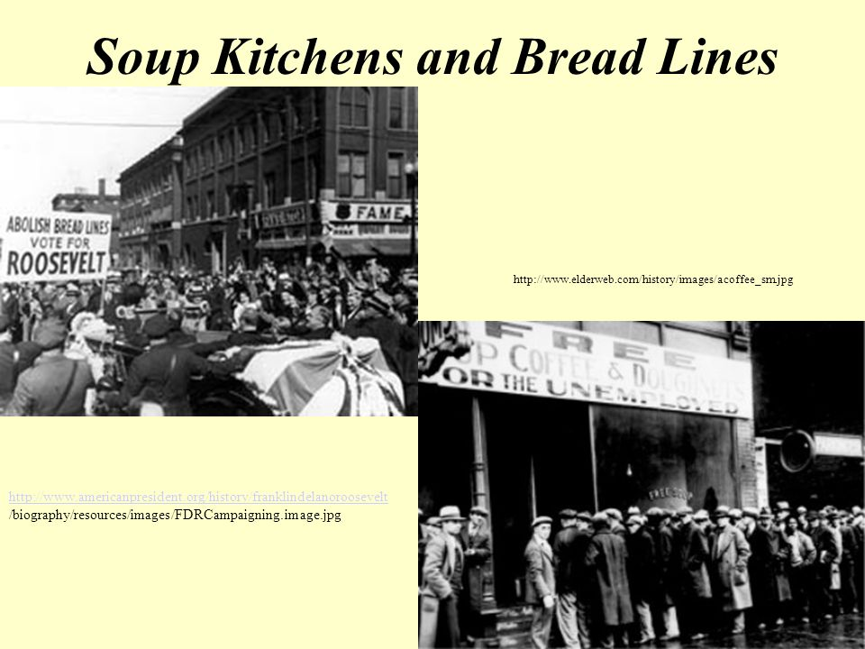 nyc soup kitchens kitchen knives ch hardship and suffering during the depression - ppt ...