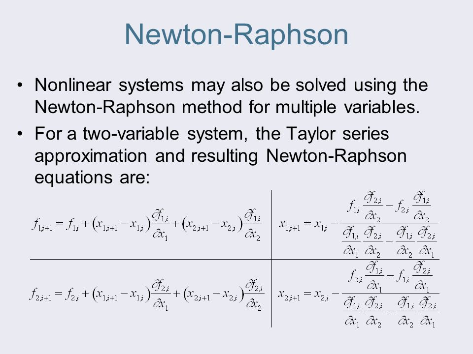 Newton Raphson Method Matlab - Resume Examples   Resume Template