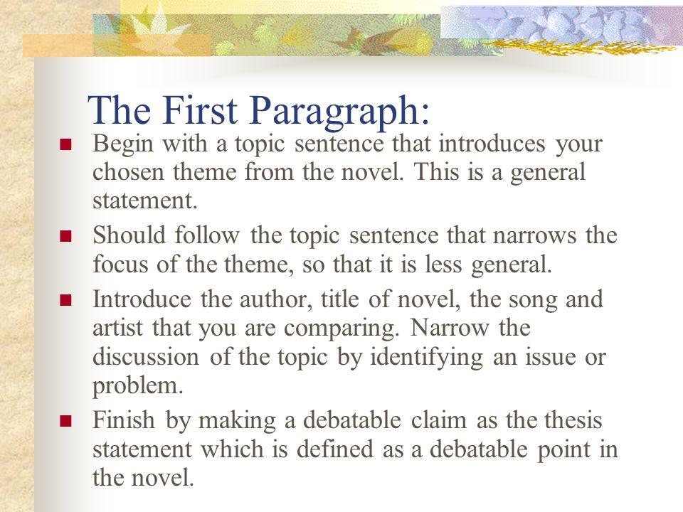The Five Paragraph Essay Format  ppt video online download