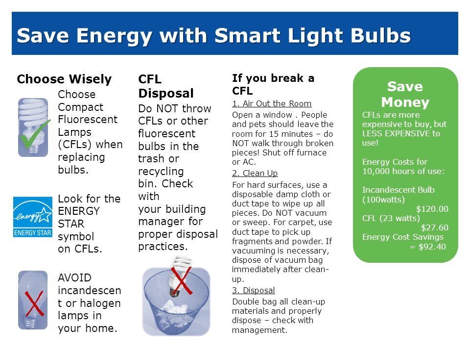 Cfl Light Bulb Break