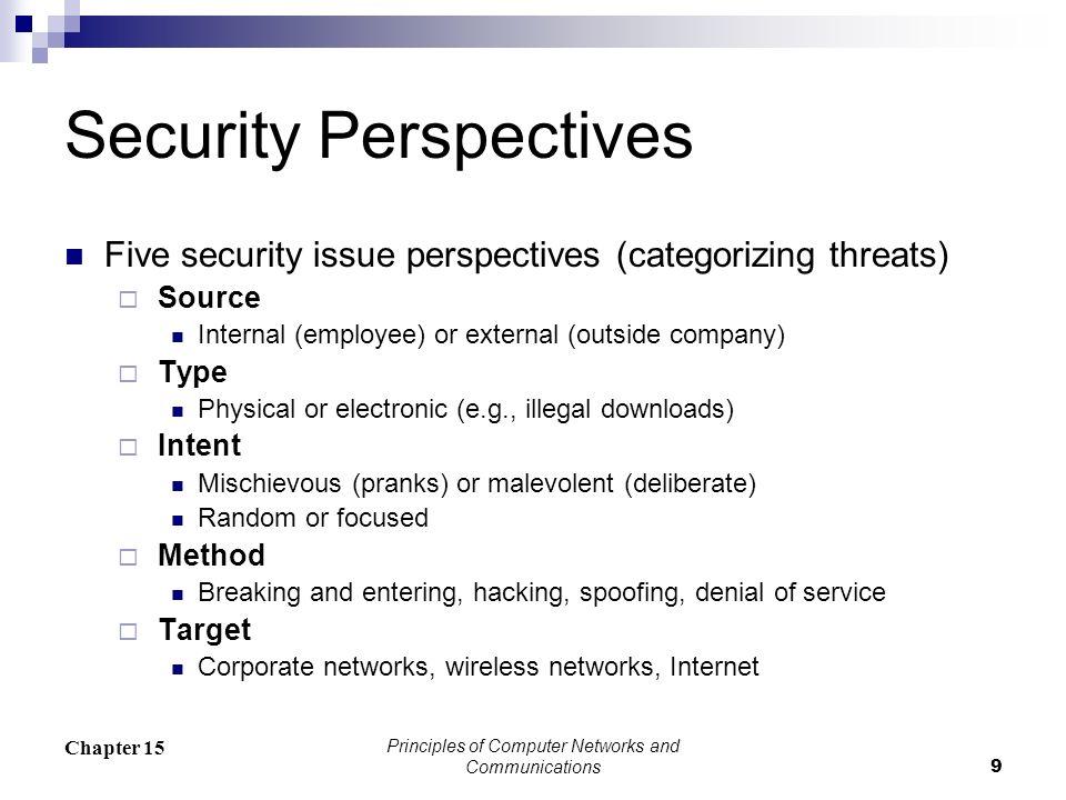 Wireless Security Encryption Protocols