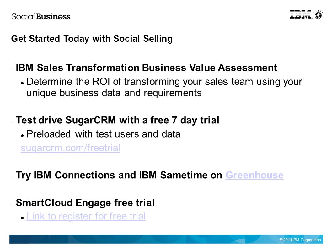 Social Selling With Ibm And Sugarcrm