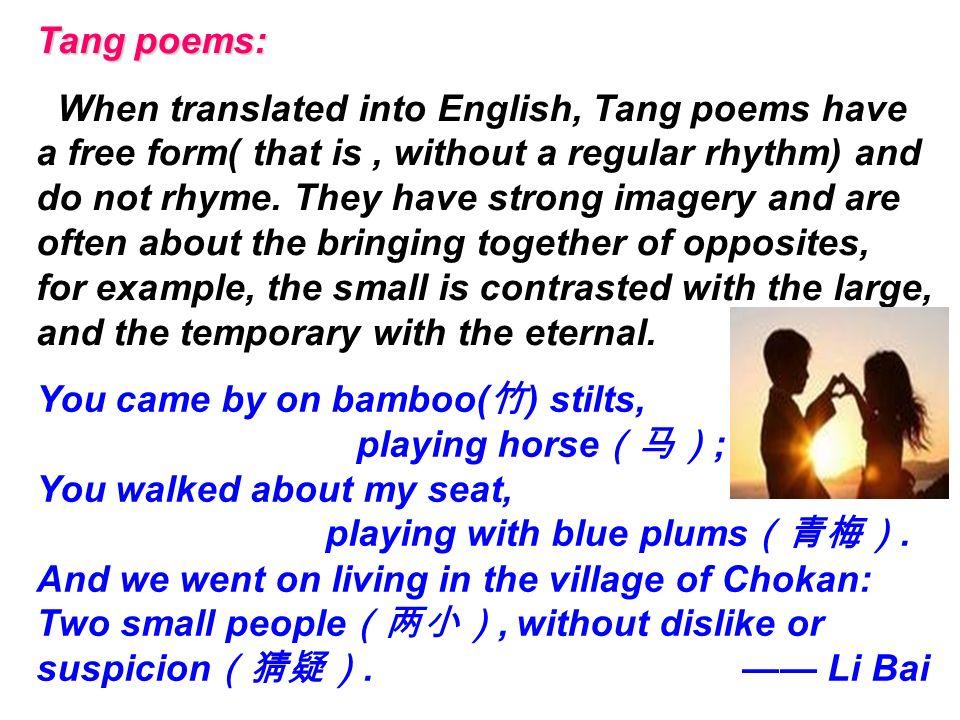 Characteristics Form Nursery Rhymes Haiku List Poems