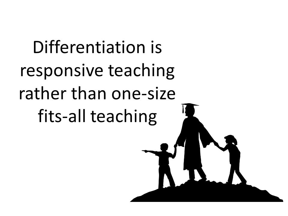 Board of Education Presentation Differentiated Instruction