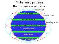 Global Wind Patterns Worksheet