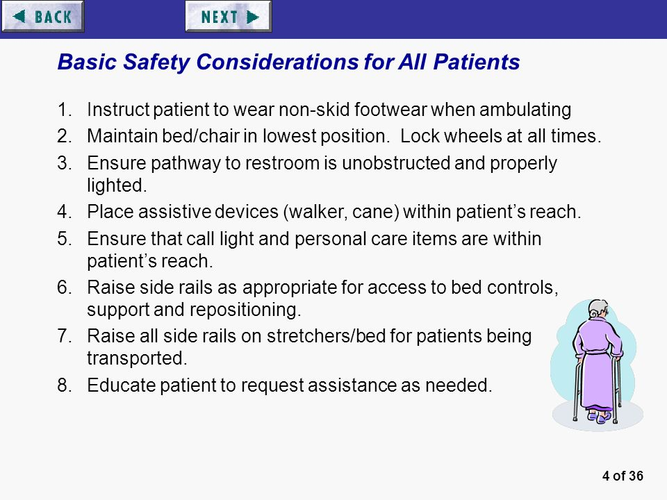 walking cane chair logo inc patient safety program - ppt video online download