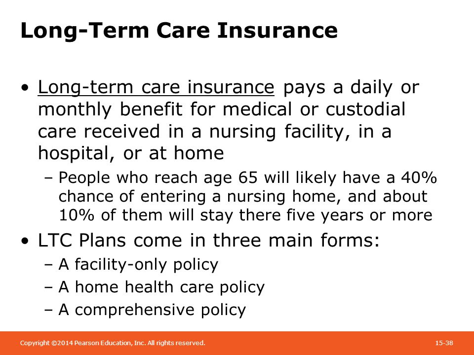 Benefits Long Term Care Insurance