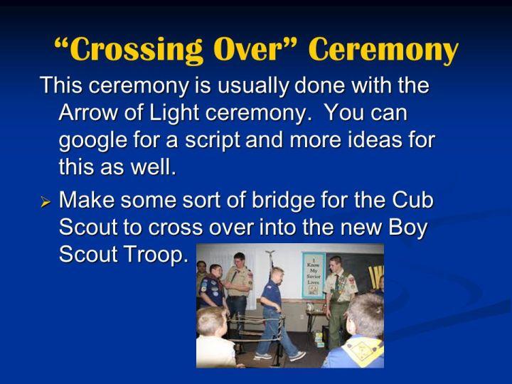 Arrow Of Light Ceremony Script Decoratingspecial Com