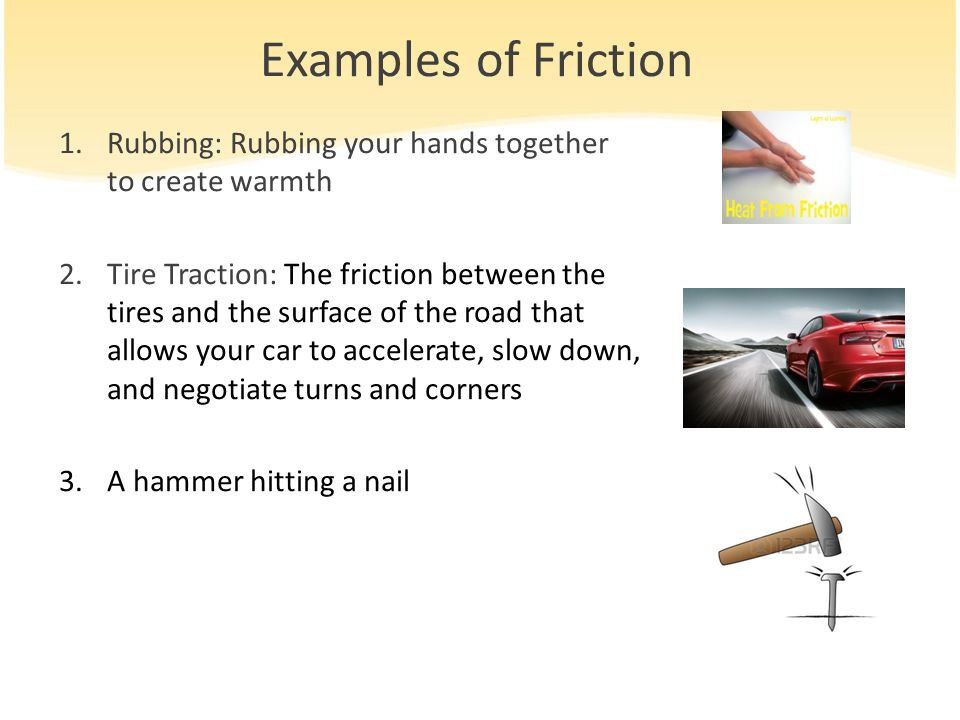 Friction Between Car Tires And Road