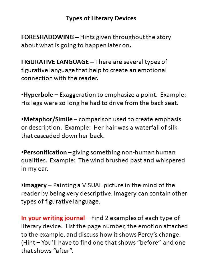 Literary Comparison Essay Example