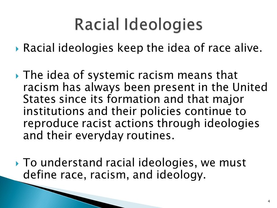 Chapter Three Racial Ideologies from the 1920s to the Present  ppt video online download