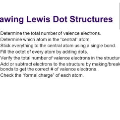 Drawing Lewis Dot Diagram 1986 Chevy C10 Ignition Wiring Structures Quick Review. - Ppt Video Online Download