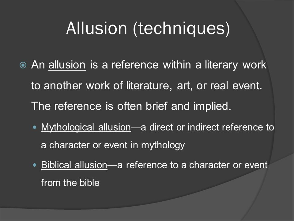 Literary Devices Elements And Techniques Of Fiction