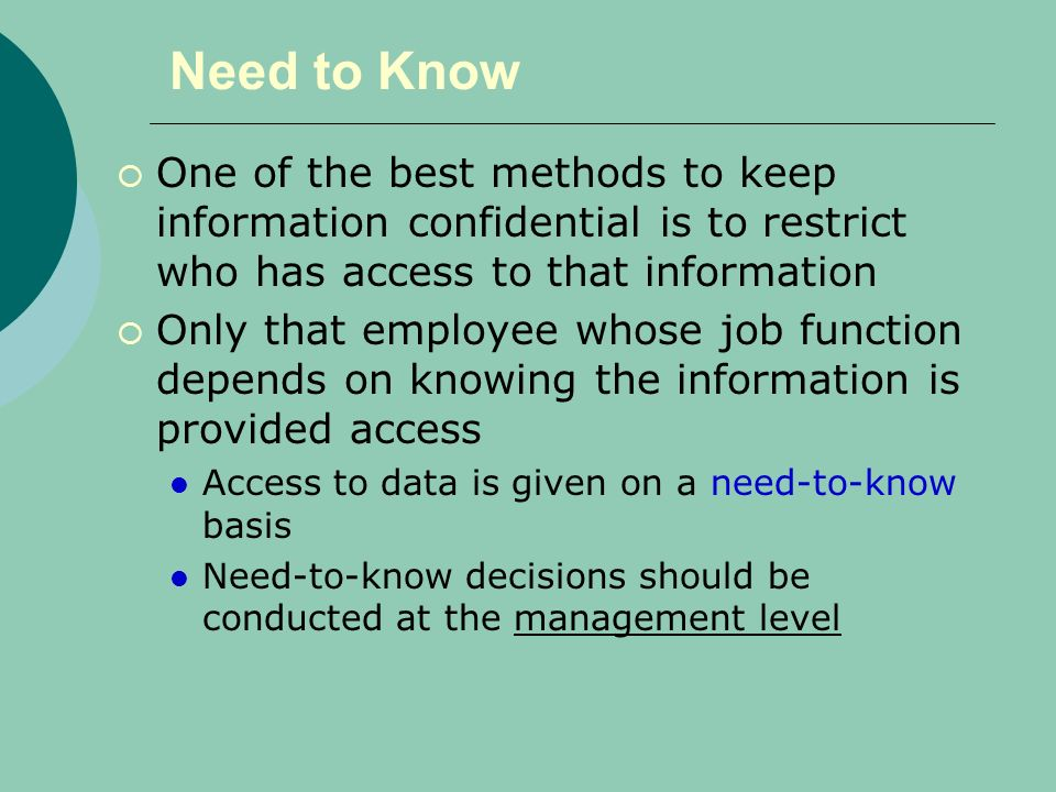 Information Ppt Policy Security