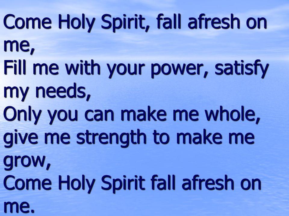 Holy Spirit Guitar Chords