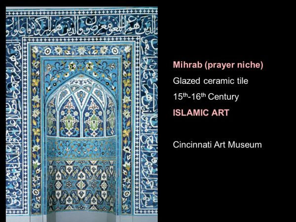 Islamic Art Islam Monotheistic Religion Originating With Teachings Of Muhammad 7th