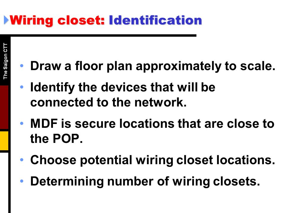 Network Wiring Closets Auto Electrical Wiring Diagram