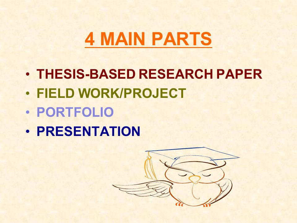Senior Project Research Paper Thesis Homework Academic Service