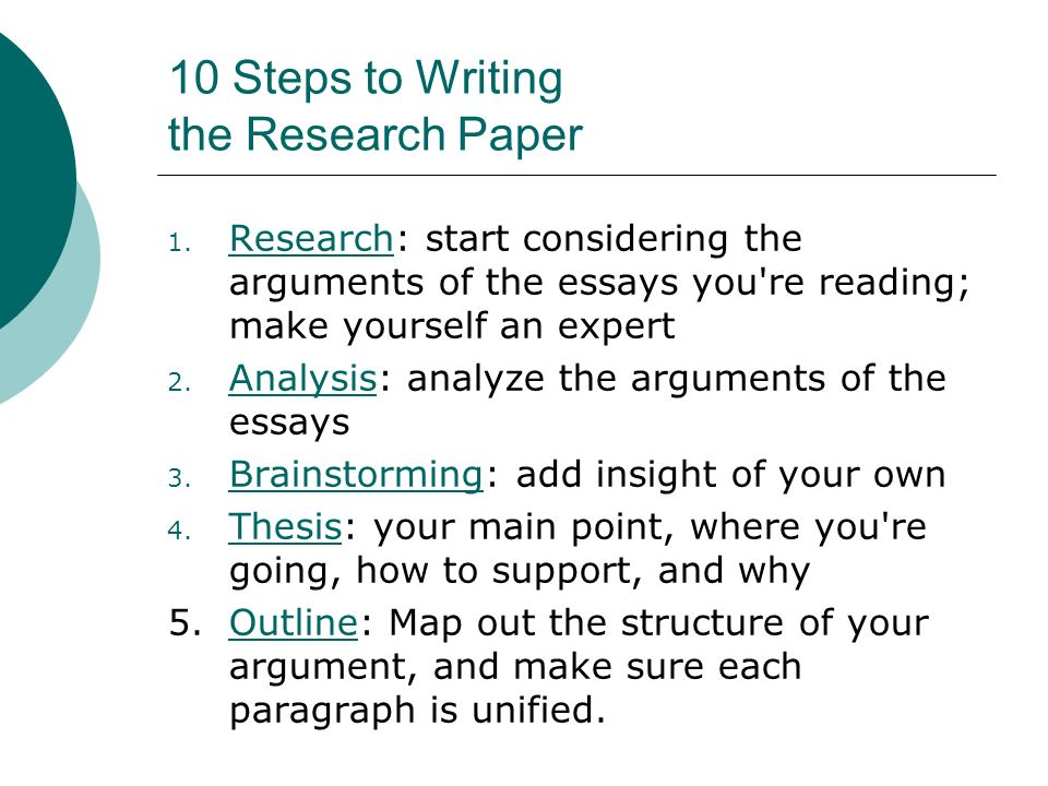 10 Steps To Writing An Essay Hospi Noiseworks Co