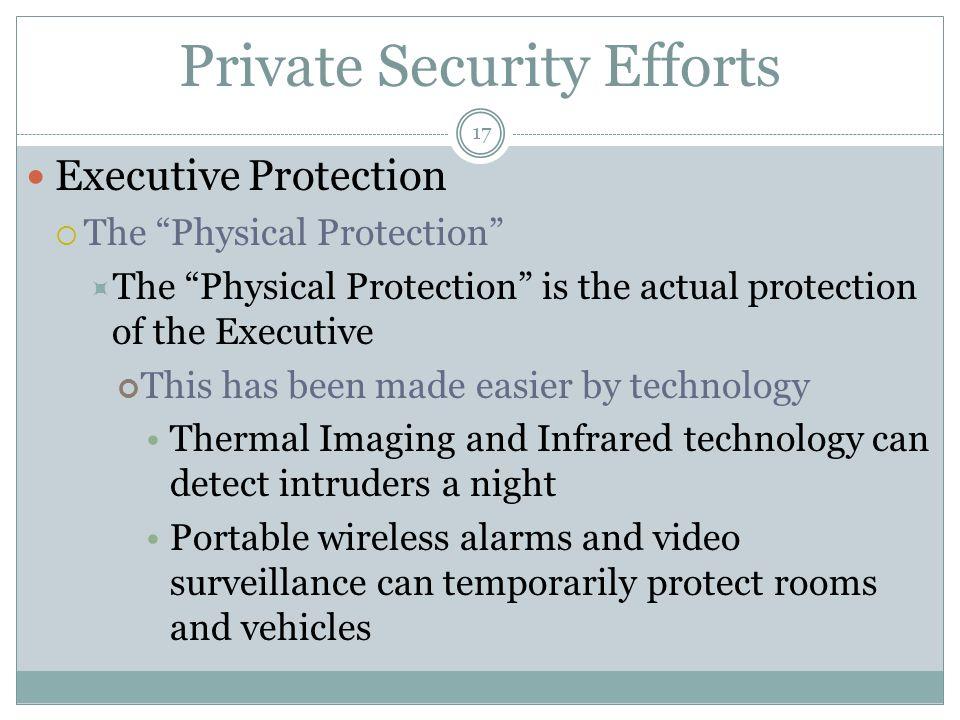 Private Executive Security
