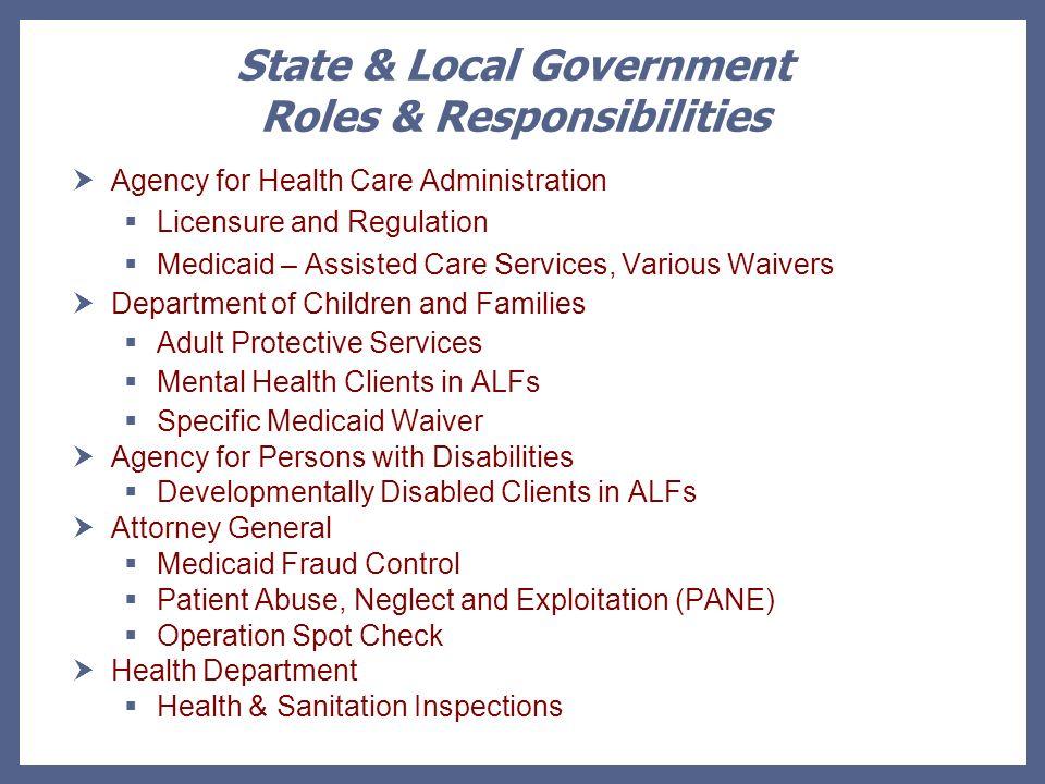 Regulatory Agency Inspections