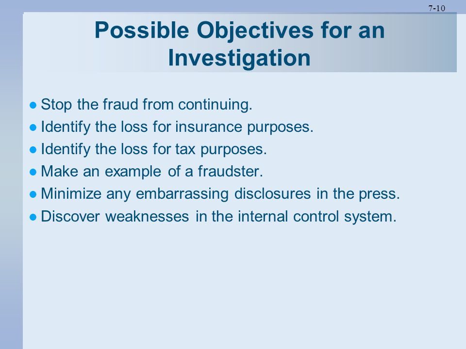 The Fraud Investigation and Engagement Processes  ppt video online download