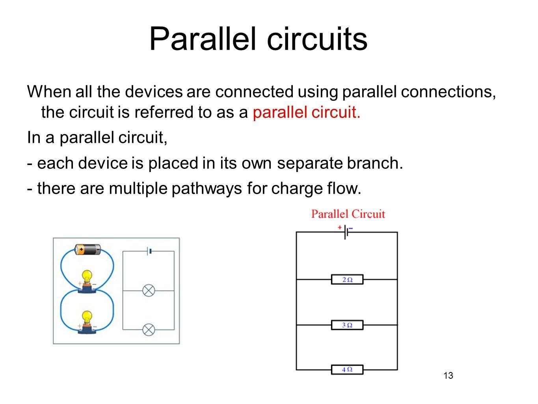 Equivalent Resistance Parallel Resistors In Circuit