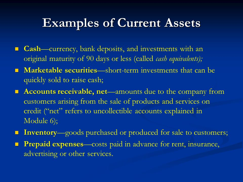 Module 2 Introducing Financial Statements and Transaction