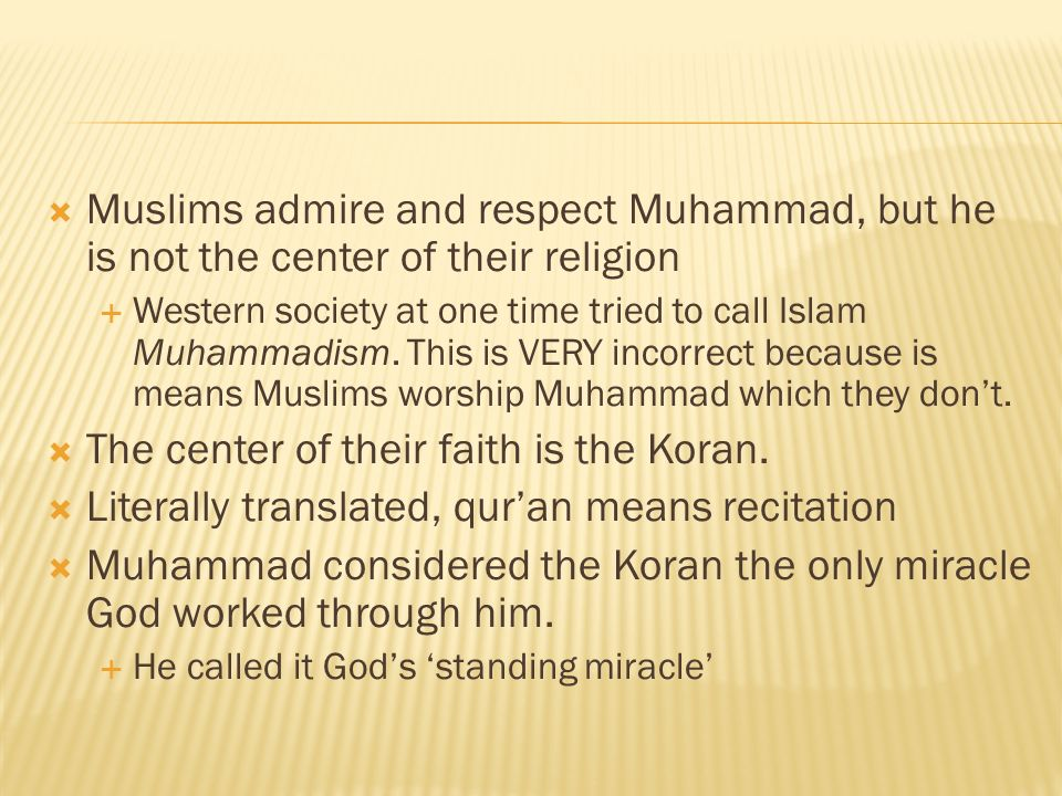 Image result for muhammadism