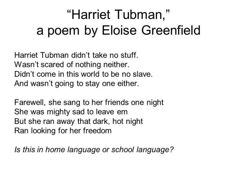 Ungewöhnlich Meet Eloise Greenfield Kids Activities Printable Black ...
