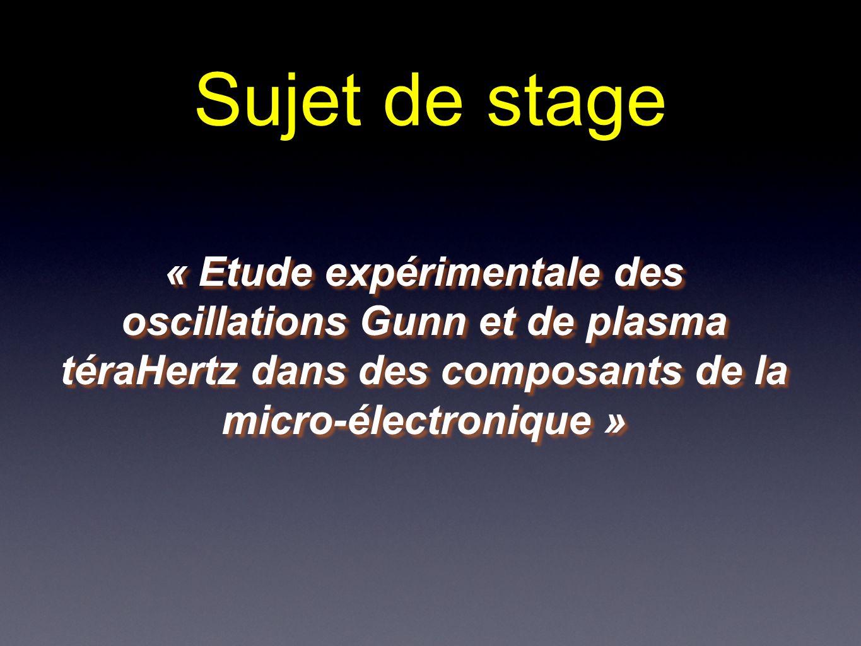 Physical Phenomena For Terahertz Electronic Devices