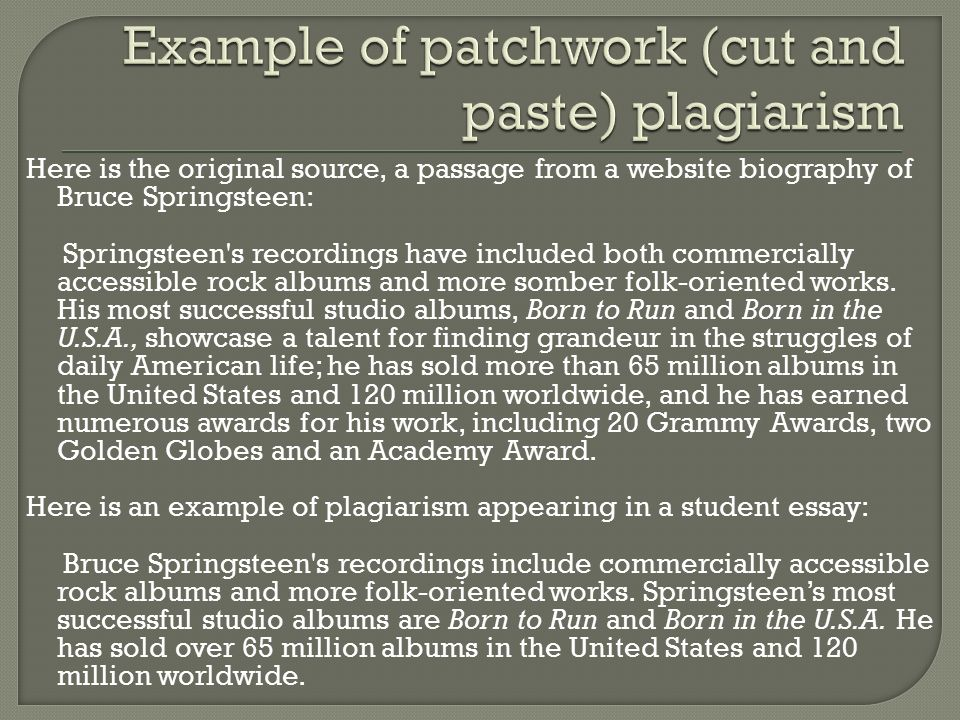 Essays On Plagiarism Plagiarism Checker Archives Technomedium Did