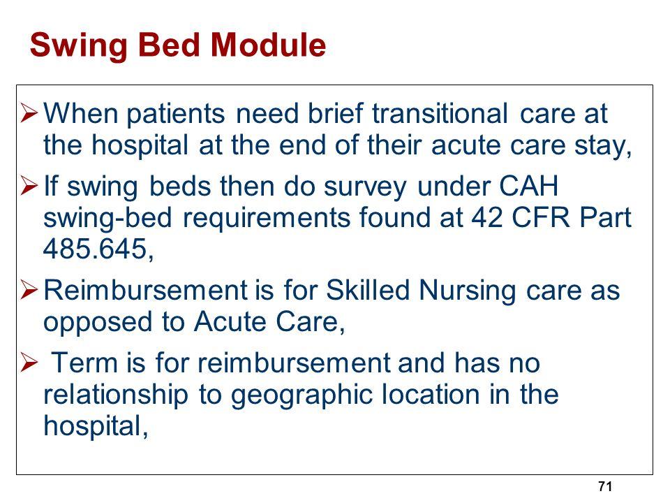 Critical Access Hospitals CAH  ppt download