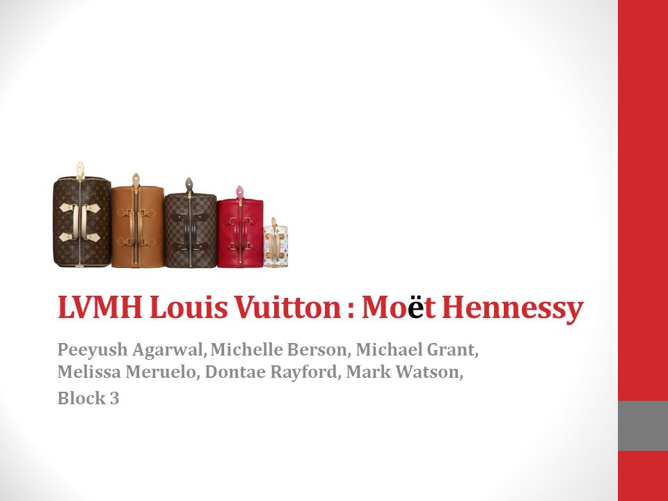 Lvmh Vuitton Moet Louis Hennessy