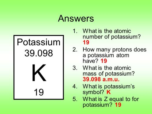 Periodic table potassium atomic mass periodic diagrams science periodic table notes ppt online urtaz Choice Image