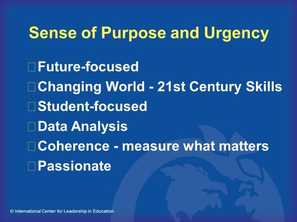 Leadership Sense of Purpose