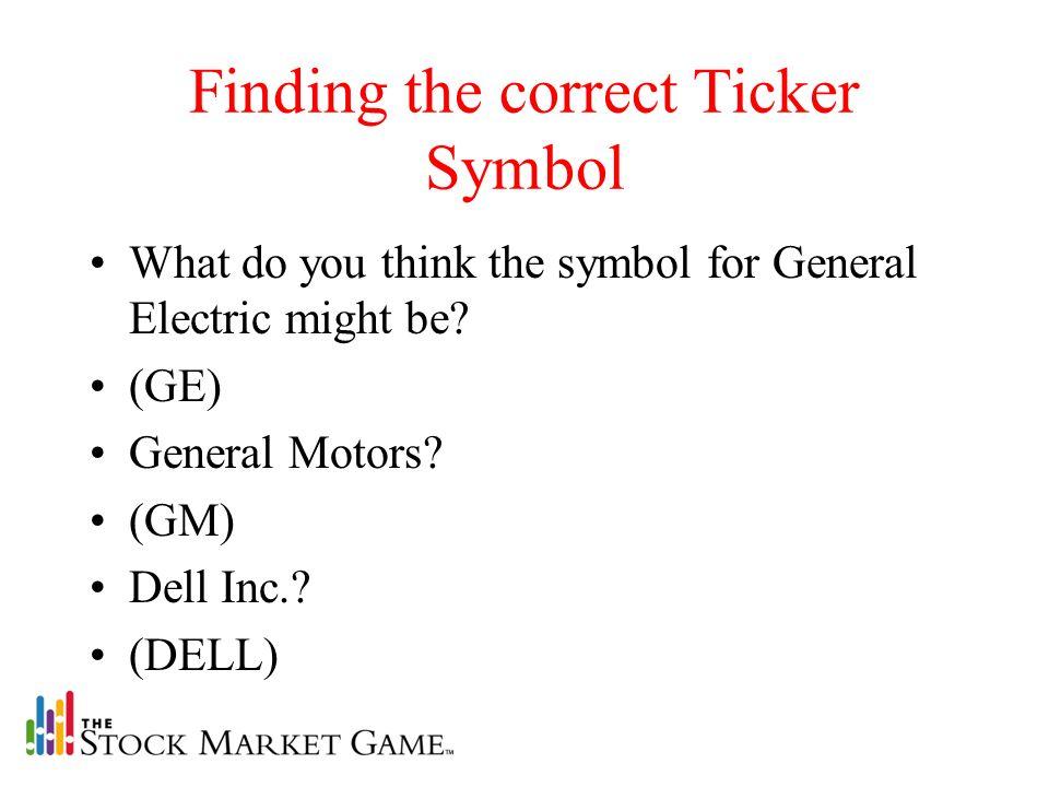 General Motors Ticker Symbol Newmotorspot
