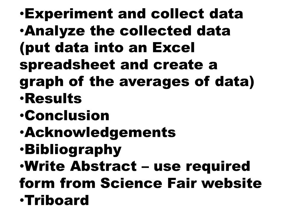 Pick A Topic For Your Science Fair Project Ppt Video