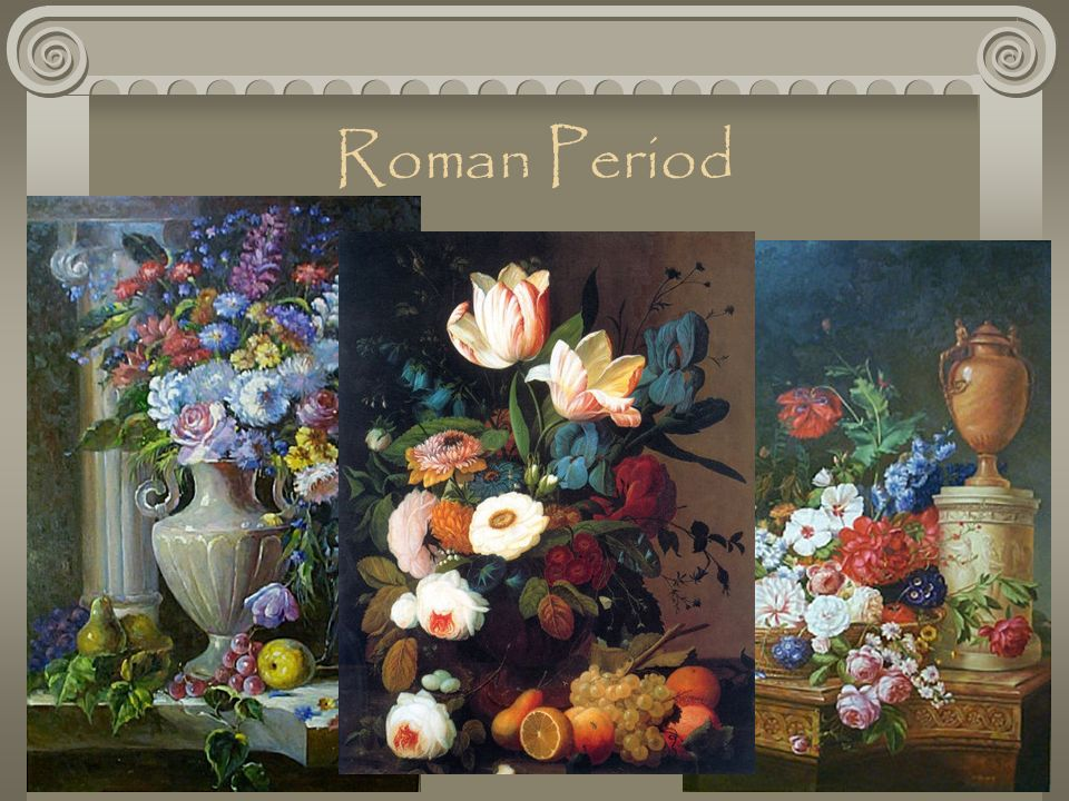 The History of Floral Design  ppt download