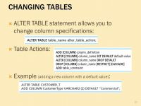 Alter Table Set Default Value Oracle & Alter Table Add ...