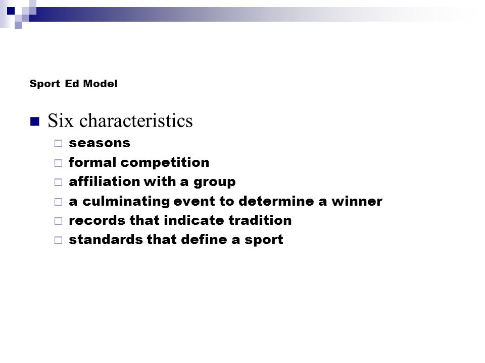 Curriculum Models Provide a basis for decisions regarding