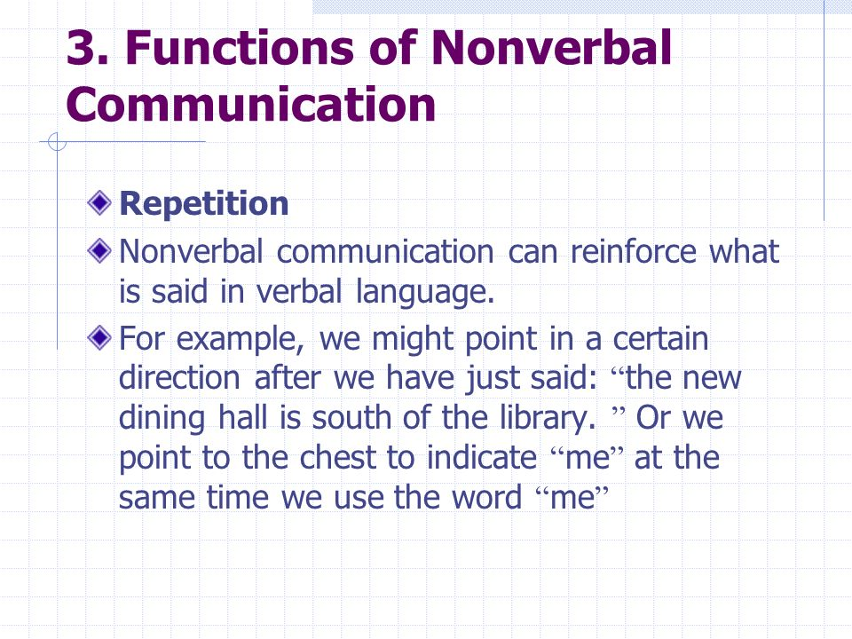 Chapter 4: Cultural Differences In Nonverbal Communication