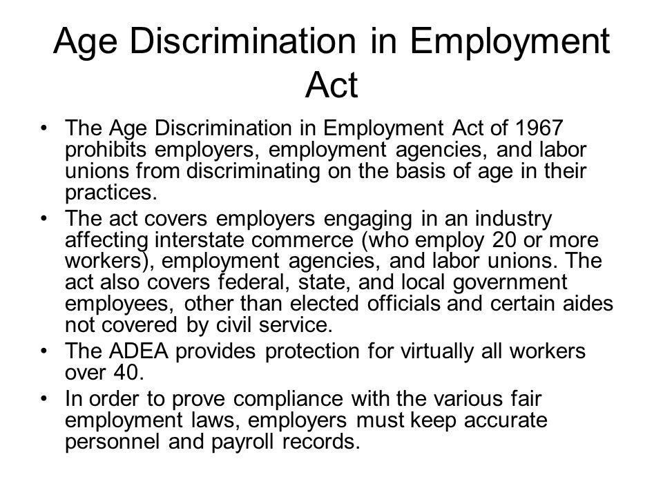Employment Protection Act